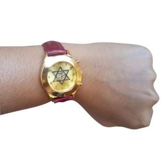Relógio Estrela de Davi Bordô