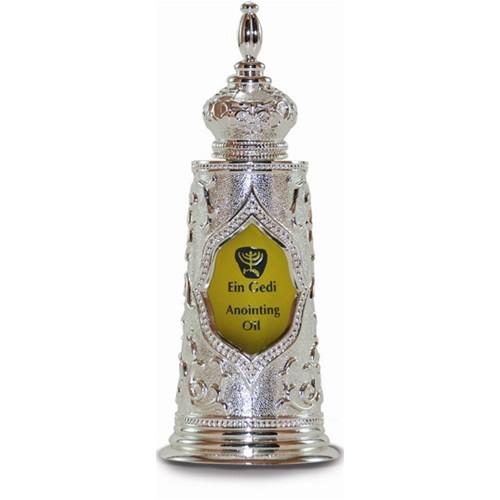 Óleo de unção - Garrafa  Torah Luxus Prateada