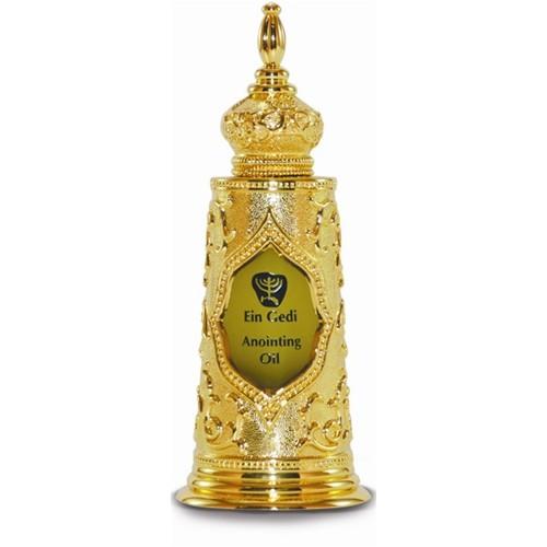 Óleo de unção - Garrafa  Torah Luxo Dourada